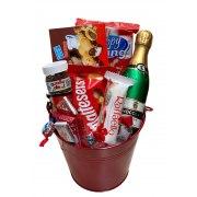 Sweet Red Gift Basket