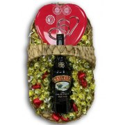 Golden Chocolate & Baileys Liqueur Gift Basket