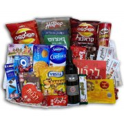 Strictly Kosher Large Sweets and Wine Basket