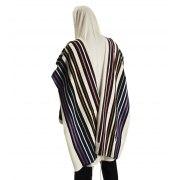 Talitania Beney Or Wool Tallit Prayer Shawl Multicolored