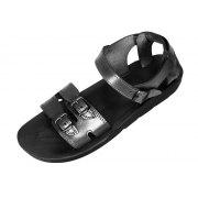 Adjustable Double Band Handmade Leather Biblical Sandals - Abraham