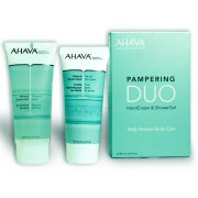 Buy AHAVA Dead Sea Pampering Duo, HandCream & ShowerGel, Special Offer