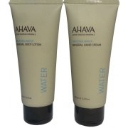 AHAVA Value Set Hand Cream and Body Lotion, Dead Sea Cosmetics