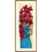 Avi Ben-Simhon - Blue Vase  - Israel Art