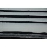 Black Stripes Prima AA Wool , Tallit Prayer Shawl