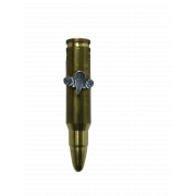 Brass Israeli Army Bullet Pendant with Tzanhanim (Paratrooopers) Insignia