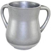 Brushed Silver Aluminum Elegant Washing Cup