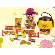 Childrens Savings Bank filled with Chanuka Gelt and Chocolates