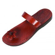 Daisy Toe PopUp, Single Strap Slipon Biblical Sandals - Rebecca