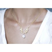 Daphne Necklace in Gold - Shlomit Ofir Jewelry