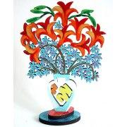 David Gerstein - Lilies - Israeli Art