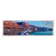 Dead Sea Panorama Fridge Magnet, Israel Souvenirs