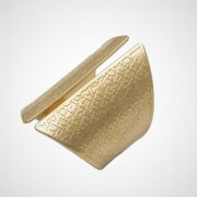 Names Of God Gold Plated Jewish Kabbalah Scarf Ring