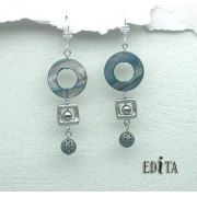 Edita - Annette -  Handcrafted Israeli Earrings