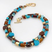 Edita - Egyptian Glory- Handcrafted Israeli Necklace