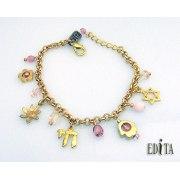 Edita - Full of Spirit Charms - Handcrafted Israeli Bracelet