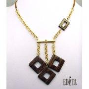 Edita - Geometric - Handcrafted Israeli Necklace