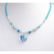 Edita - Pure Heart (Aqua) - Israel Necklace