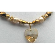 Edita - Pure Heart Champagne - Israel Necklace