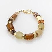 Edita - Sand Dune - Handcrafted Israeli Bracelet