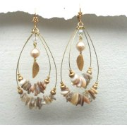 Edita - Shellimar - Handcrafted Israeli Earrings