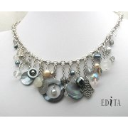 Edita - Shooting Stars - Handcrafted Israeli Necklace