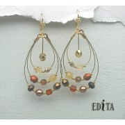 Edita - Spice Girls - Handcrafted Israeli Earrings