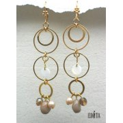 Edita - Touch of Class - Handcrafted Israeli Earrings