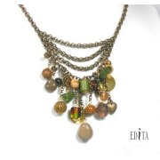 Edita - Vintage Heirloom - Handcrafted Israeli Necklace