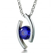 Psalm 23 Sterling Silver Zirconia Nano Jewelry
