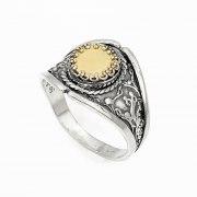 5 Metals Filigree Design, Kabbalah Ring