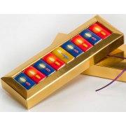 Hanukkiah Chocolates Gift Basket for Kids
