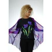 Galilee Silk - Sleeveless Open Silk Vest