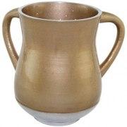 Gold Aluminum Elegant Washing Cup
