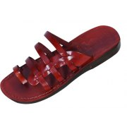 Graceful Fisherman-Style Leather Sandals - Avigail