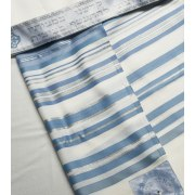 Talitania Beney or Wool Tallit Prayer Shawl Light Blue Stripes