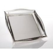 Hadad Sterling Silver Matzah Tray - Simply Elegant Style