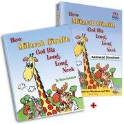 How Mitzvah Giraffe Got His Long, Long Neck - Animated Storybook CD + Hardcover Book
