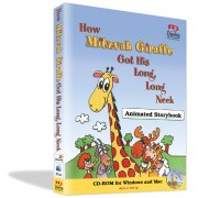 How Mitzvah Giraffe Got His Long, Long Neck - Animated Storybook CD