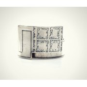 Angeles Blessing Silver Fashion Jewish Blessing Ring