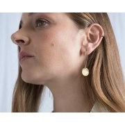 Shema Israel Prayer Gold Hanging Earrings