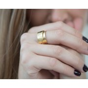 The One My Heart Loves Gold Ring