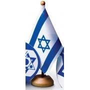 Israel desk flag