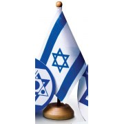 Israel desk flag