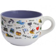Israel Expression Soup Bowl Mug
