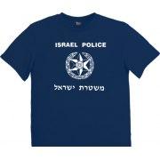 Israel T-Shirt - Israel Police Logo (Men)