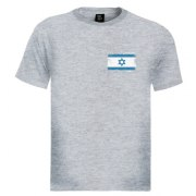 Israeli Flag Logo - Men's Israel T-shirt