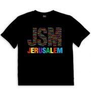Israeli T Shirt Jerusalem Multicolor