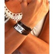 Leather ALD , Kabbalah Bracelet