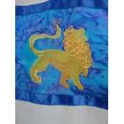Lion of Judah Tallit Prayer Shawl by Galilee Silks
